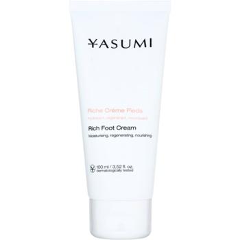Yasumi Body Care Cremă pentru picioare pentru pielea uscată și crăpată cu efect de nutritiv  100 g