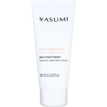 Yasumi Body Care Cremă pentru picioare pentru pielea uscată și crăpată cu efect de nutritiv