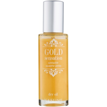Yasumi Gold Sensation Ulei sec cu particule de aur pe fata , corp si par  50 ml