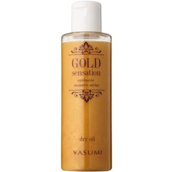 Yasumi Gold Sensation Trockenöl mit Goldpartikeln für Gesicht, Körper und Haare