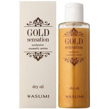 Yasumi Gold Sensation Trockenöl mit Goldpartikeln für Gesicht, Körper und Haare 1