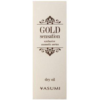 Yasumi Gold Sensation Trockenöl mit Goldpartikeln für Gesicht, Körper und Haare 2