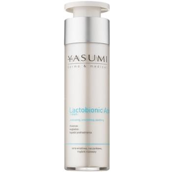 Yasumi Dermo&Medical Lactobionic Acid crema pentru ten  pentru piele sensibila cu tendinte de inrosire  50 ml