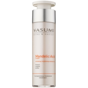 Yasumi Dermo&Medical Mandelic Acid crema hidratanta cu efect iluminator pentru definirea pielii  50 ml