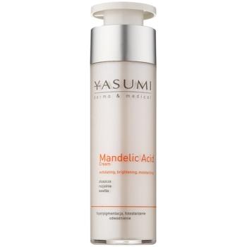 Yasumi Dermo&Medical Mandelic Acid crema hidratanta cu efect iluminator pentru definirea pielii