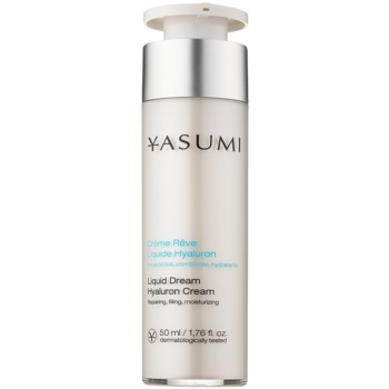 Yasumi Moisture crema hidratanta pentru ten uscat cu acid hialuronic  50 ml