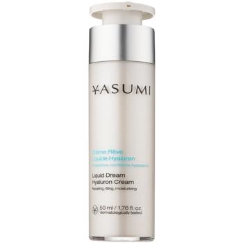 Yasumi Moisture crema hidratanta pentru ten uscat cu acid hialuronic