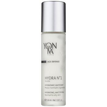 Yon-Ka Age Defense N°1 fluid hidratant cu efect de mătuire pentru piele normala si grasa