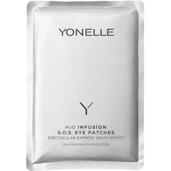Yonelle H2O Infusion SOS masca pentru ochi cu efect lifting  4 buc