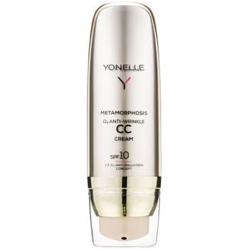 Yonelle Metamorphosis Crema CC cu efect anti-rid SPF 10 culoare 2 Neutral  50 ml