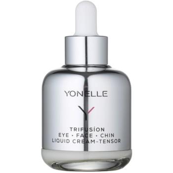 Yonelle Trifusíon Cremă lichidă cu efect de lifting asupra zonei ochiului și a conturului feței