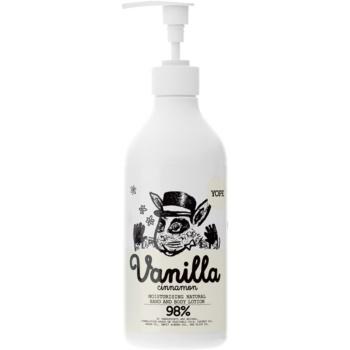 Yope Vanilla & Cinnamon balsam natural pentru maini si corp  500 ml