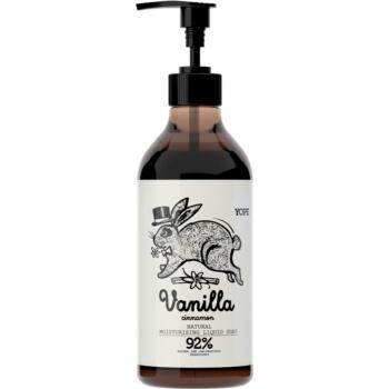 Yope Vanilla & Cinnamon sapun lichid cu efect de hidratare  500 ml