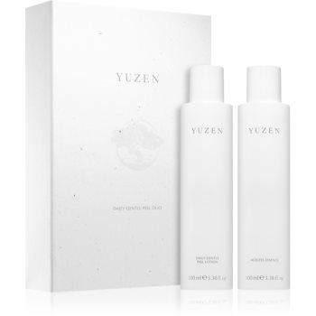 Yuzen Duo Daily Gentle Peel set de cosmetice (pentru strălucirea și netezirea pielii)