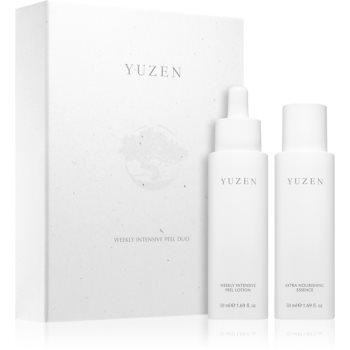 Yuzen Duo Weekly Intenstive Peel set de cosmetice (pentru definirea pielii)