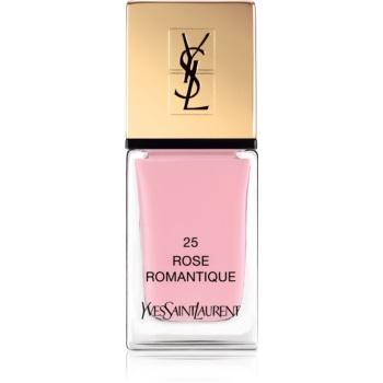 Yves Saint Laurent La Laque Couture lak na nehty odstín 25 Rose Romantique 10 ml
