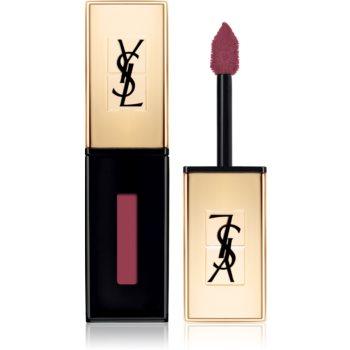 Yves Saint Laurent Vernis À Lèvres Glossy Stain ruj rezistent si luciu de buze. 2 in 1