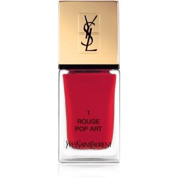 Yves Saint Laurent La Laque Couture lak na nehty odstín 01 Rouge Pop Art 10 ml