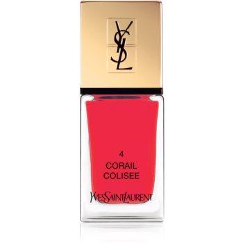 Yves Saint Laurent La Laque Couture lak na nehty odstín 04 Corail Colisee 10 ml