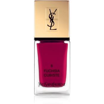 Yves Saint Laurent La Laque Couture lac de unghii culoare 08 Fuchsia Cubiste 10 ml