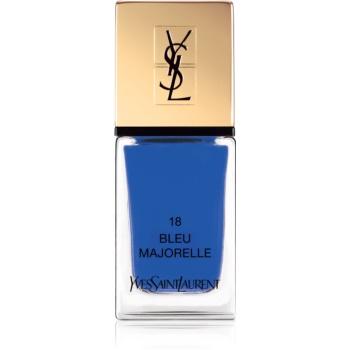 Yves Saint Laurent La Laque Couture lac de unghii culoare 18 Bleu Majorelle 10 ml