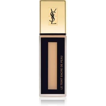 Yves Saint Laurent Le Teint Encre de Peau machiaj matifiant SPF 18 culoare B40 Beige 25 ml