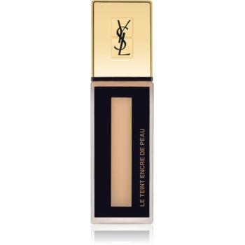 Yves Saint Laurent Le Teint Encre de Peau machiaj matifiant SPF 18 culoare BD40 Beige Doré 25 ml