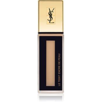 Yves Saint Laurent Le Teint Encre de Peau machiaj matifiant SPF 18 culoare B50 Beige 25 ml