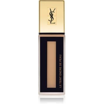 Yves Saint Laurent Le Teint Encre de Peau machiaj matifiant SPF 18 culoare BD55 Beige Doré 25 ml