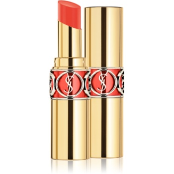 Yves Saint Laurent Rouge Volupté Shine Oil-In-Stick ruj hidratant culoare 30 Coral Ingenious / Coral Trench 4 ml