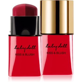 Yves Saint Laurent Baby Doll Kiss & Blush Duo Stick balsam tonic  pentru buze si obraji culoare 07 From Mild To Spicy 5 g