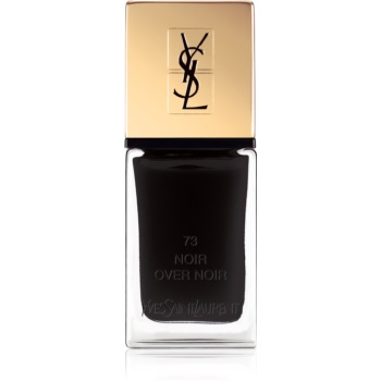 Yves Saint Laurent La Laque Couture lac de unghii culoare 73 Noir Over Noir 10 ml