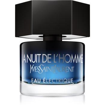Yves Saint Laurent La Nuit de LHomme Eau Électrique eau de toilette pentru barbati