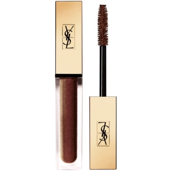 Yves Saint Laurent Vinyl Couture Mascara mascara pentru extensie, rotunjire si volum culoare 4 I'm The Illusion – Brown 6,7 ml