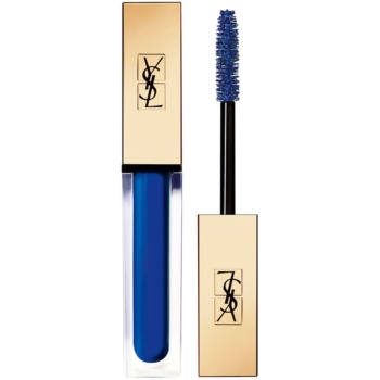 Yves Saint Laurent Vinyl Couture Mascara mascara pentru extensie, rotunjire si volum culoare 5 I'm The Trouble – Blue 6,7 ml