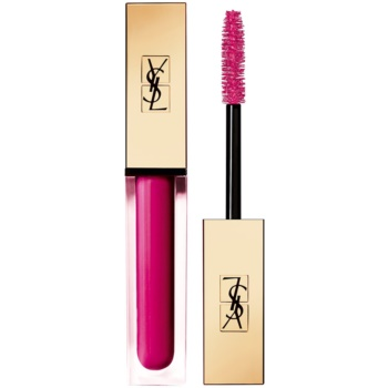 Yves Saint Laurent Vinyl Couture Mascara mascara pentru extensie, rotunjire si volum culoare 6 I'm The Madness – Pink 6,7 ml