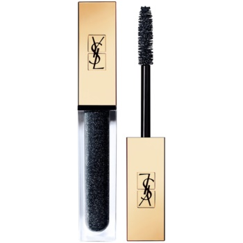 Yves Saint Laurent Vinyl Couture Mascara mascara pentru extensie, rotunjire si volum culoare 7 I'm The Storm - Dark Sparkle - Top Coat 6,7 ml