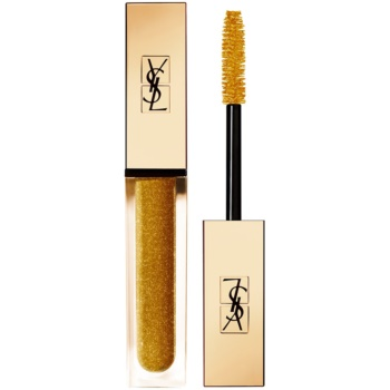 Yves Saint Laurent Vinyl Couture Mascara mascara pentru extensie, rotunjire si volum culoare 8 I'm The Fire – Gold Sparkle – Top Coat 6,7 ml