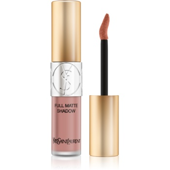 Yves Saint Laurent Full Matte Shadow lichid fard ochi cu efect matifiant culoare 1 Cheeky Pink 4,5 ml