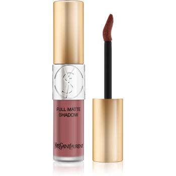 Yves Saint Laurent Full Matte Shadow lichid fard ochi cu efect matifiant culoare 2 Impulsive Pink 4,5 ml