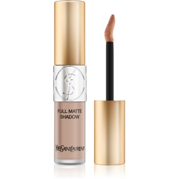 Yves Saint Laurent Full Matte Shadow lichid fard ochi cu efect matifiant culoare 4 Innocent Beige 4,5 ml