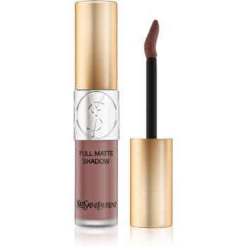 Yves Saint Laurent Full Matte Shadow lichid fard ochi cu efect matifiant culoare 3 Tantalizing Taupe 4,5 ml