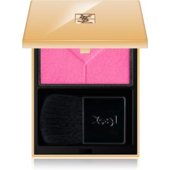 Yves Saint Laurent Couture Blush fard de obraz sub forma de pudra culoare 8 Fuchsia Stiletto 3 g