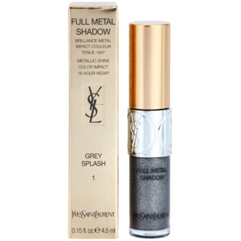 Yves Saint Laurent Full Metal Shadow lichid fard ochi lucios 2