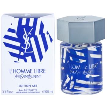 Yves Saint Laurent L'Homme Libre Art Edition Eau de Toilette for Men
