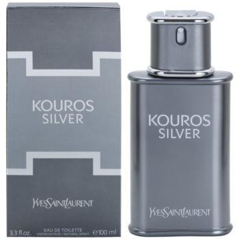 Yves Saint Laurent Kouros Silver woda toaletowa dla mężczyzn