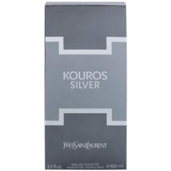 Yves Saint Laurent Kouros Silver woda toaletowa dla mężczyzn 3