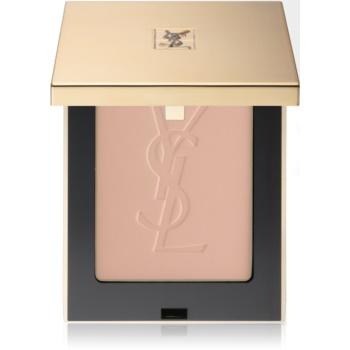 Fotografie Yves Saint Laurent Poudre Compacte Radiance matující pudr odstín 4 Pink Beige 9 g