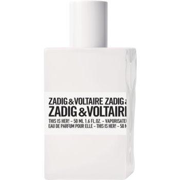 Zadig & Voltaire This Is Her! eau de parfum pentru femei 50 ml
