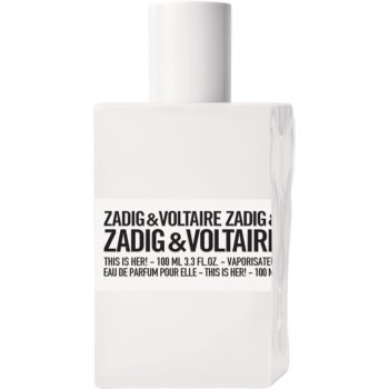 Zadig & Voltaire This is Her! Eau de Parfum pentru femei imagine produs
